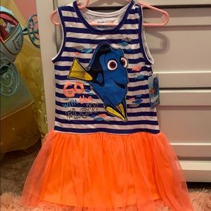 Girls 5T Finding Dory Dress
